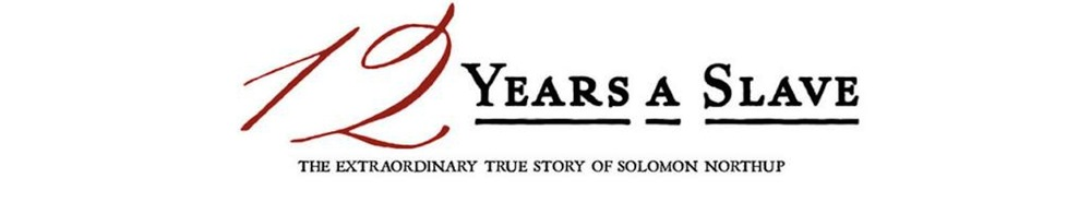 12 Years a Slave Movie Banner
