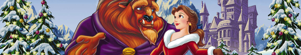 Beauty and the Beast: The Enchanted Christmas Movie Banner