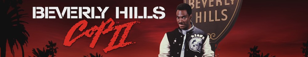 Beverly Hills Cop II Movie Banner