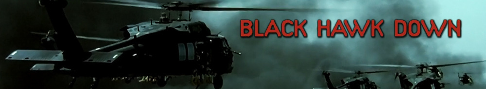 Black Hawk Down Movie Banner