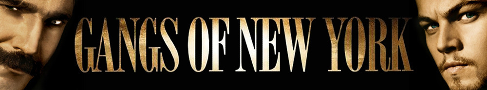 Gangs of New York Movie Banner
