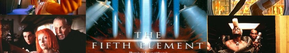 The Fifth Element Movie Banner