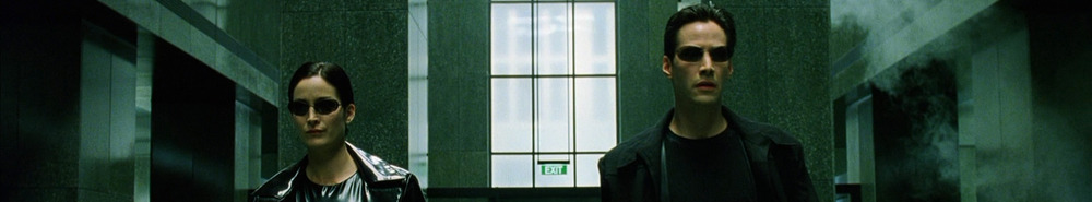 The Matrix Movie Banner