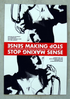 Stop Making Sense movoe photo