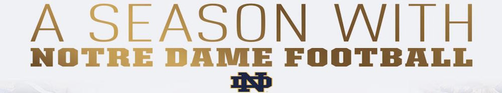 A Season with Notre Dame Movie Banner