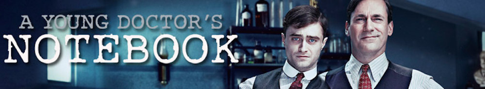A Young Doctor's Notebook Movie Banner