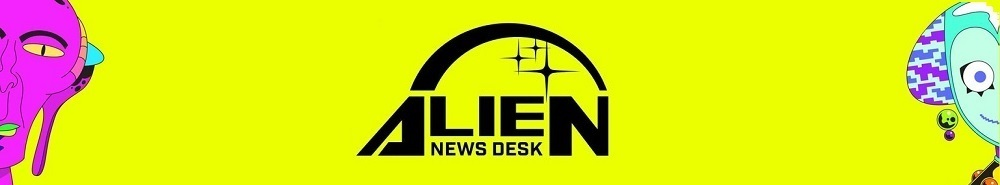 Alien News Desk Movie Banner