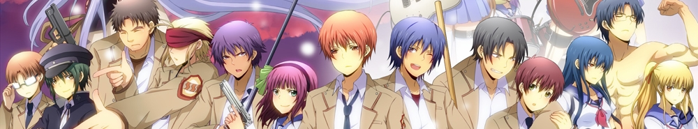 Angel Beats! Movie Banner