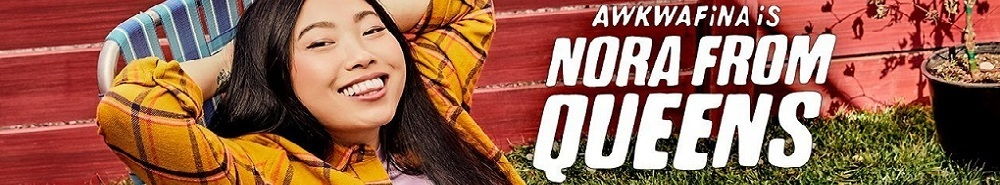 Awkwafina Is Nora From Queens Movie Banner