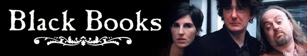 Black Books (UK) Movie Banner