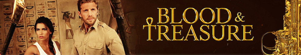 Blood & Treasure Movie Banner
