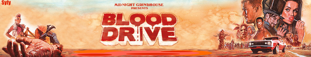 Blood Drive Movie Banner