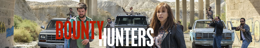 Bounty Hunters (UK) Movie Banner
