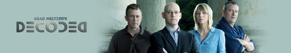 Brad Meltzer's Decoded Movie Banner