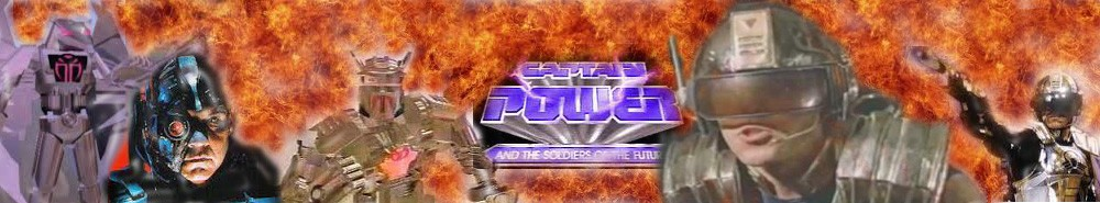 Captain Power and the Soldiers of the Future Movie Banner