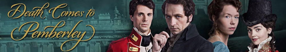 Death Comes to Pemberley (UK) Movie Banner