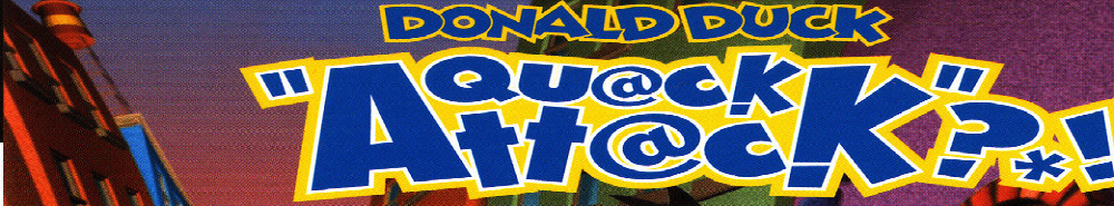 Donald's Quack Attack Movie Banner