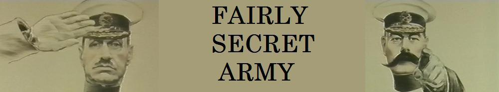 Fairly Secret Army (UK) Movie Banner