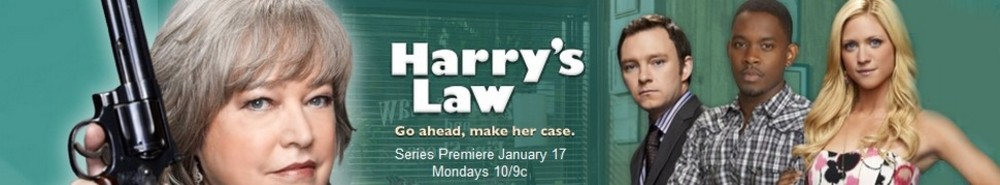 Harry's Law Movie Banner