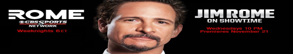 Jim Rome on SHOWTIME Movie Banner