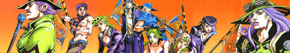 JoJo's Bizarre Adventure Movie Banner