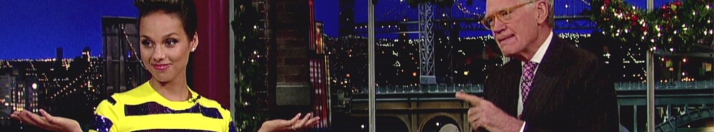 Late Night With David Letterman Movie Banner