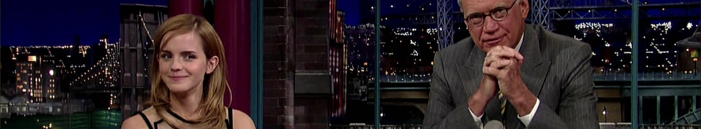 Late Show with David Letterman Movie Banner