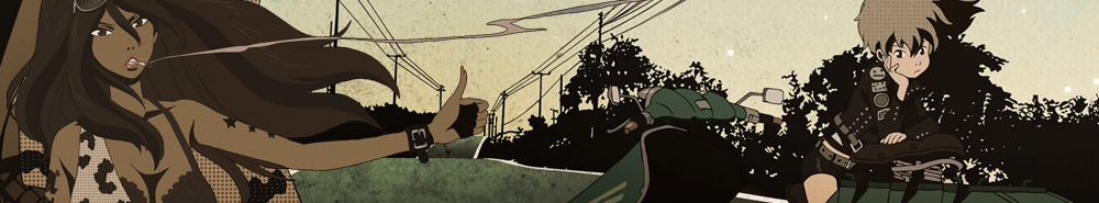 Michiko & Hatchin Movie Banner