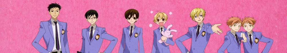 Ouran High School Host Club Movie Banner