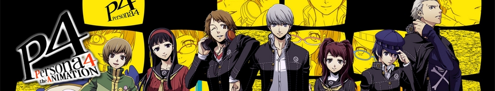 Persona 4 The Animation  Movie Banner
