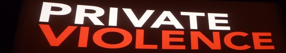 Private Violence Movie Banner