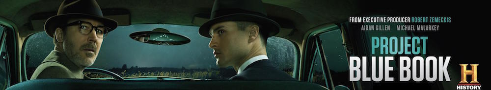 Project Blue Book Movie Banner