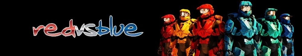 Red Vs Blue Movie Banner