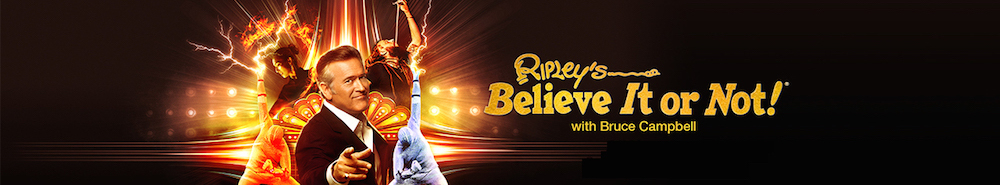 Ripley's Believe It or Not! (2019) Movie Banner