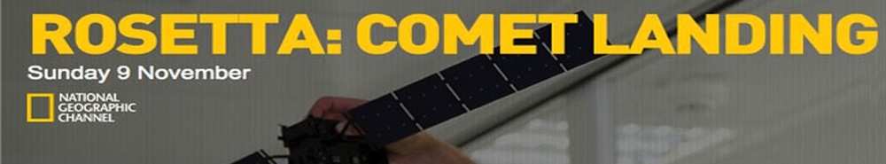 Rosetta: Comet Landing (UK) Movie Banner