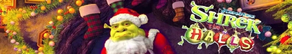Shrek The Halls Movie Banner