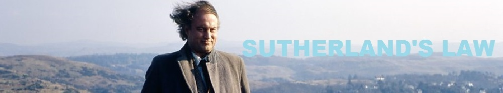 Sutherland's Law (UK) Movie Banner