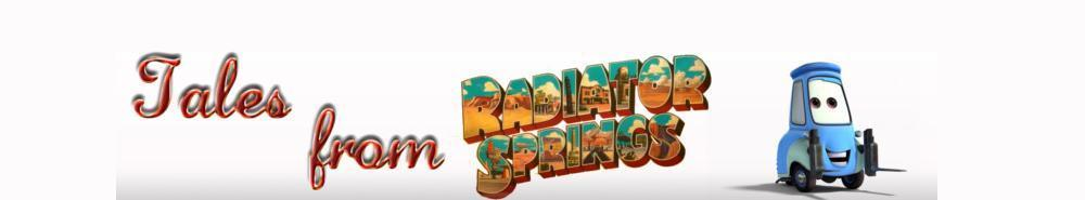 Tales From Radiator Springs Movie Banner