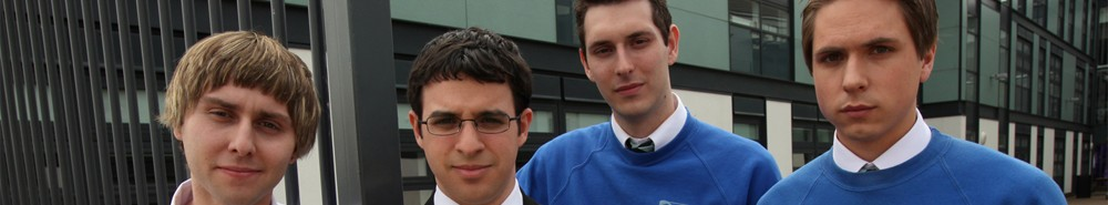 The Inbetweeners (UK) Movie Banner