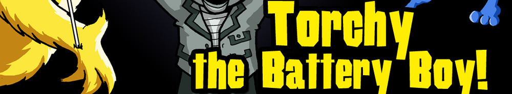 Torchy the Battery Boy (UK) Movie Banner