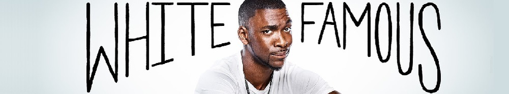 White Famous Movie Banner
