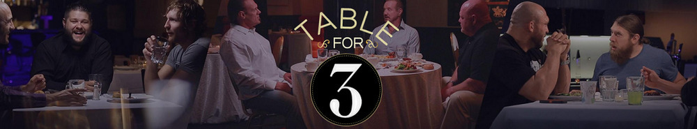 WWE Table For 3 Movie Banner