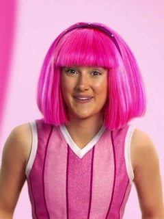 Stephanie from lazy town actress
