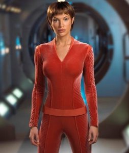 Sub-Commander T'Pol (later Commander) photo