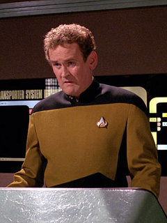 Chief Miles O'Brien photo
