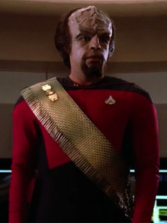 Lieutenant Worf photo