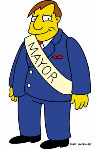 Mayor Quimby photo