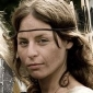 Ealfrith played by Kate Ambler