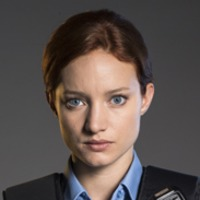 Audrey Pouliot played by Laurence Leboeuf