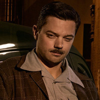 Howard Stark played by Dominic Cooper Image
